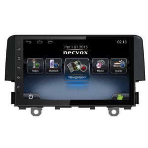 Necvox DVN-A 1133 Civic Full Touch Android Navigasyon & Multimedya