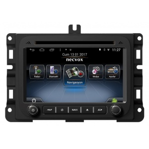Necvox DVN-A1103 Jeep Renegade Android Navigasyon ve Multimedya Sistemi