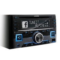 ALPINE CDE W296BT BLUETOOTH ÖZELLİKLİ 2 DIN CD ÇALAR
